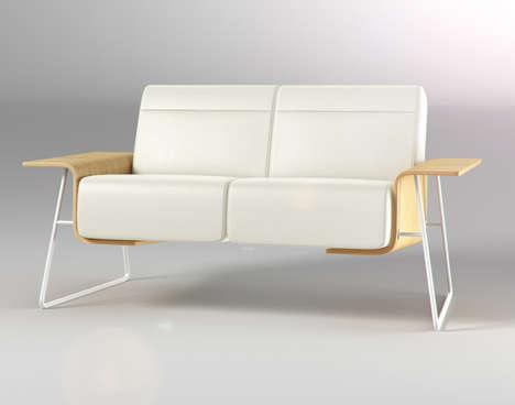 Minimalist Winged Seating