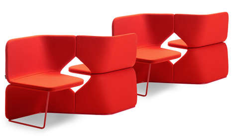 Asymmetrical Modular Seating