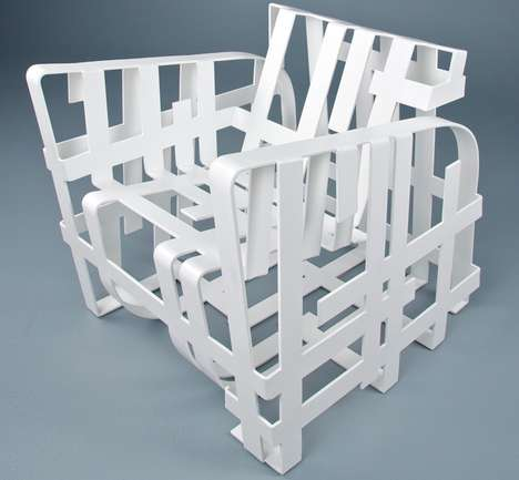 Intricate Intersecting Seating
