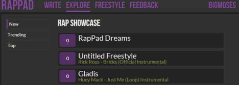 Freestyle Rapping Websites - Learn to be Lyrical and Poetic with RapPad
