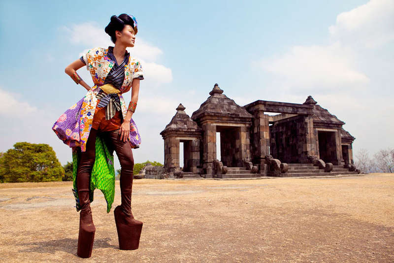 Eccentric Asian-Inspired Ensembles
