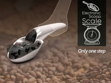 Digital Measuring Cups - The Electronic Scoop Scale Doles Out Goods Precisely