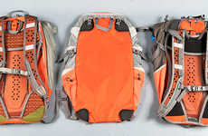 Morphing Modular Rucksacks - The Bootlegger Convertible Backpack is Three Different Bags in One