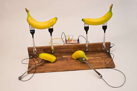 Fruit-Incorporated Game Controllers
