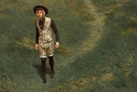 Flamboyant Farmer Fashions