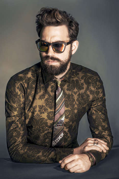 Pattern-Enriched Professor Portraits