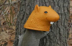 Humorous Rodent-Shaped Feeders