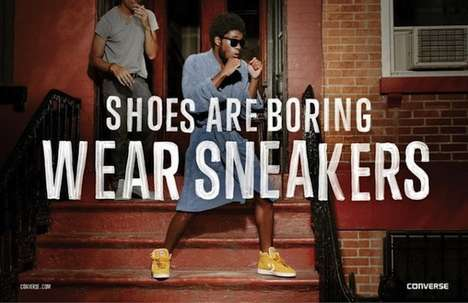 The New Converse Advertisement Conveys the Fun Life of Sneaker Wearers