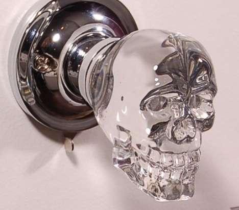 Spooky Skeletal Doorknobs