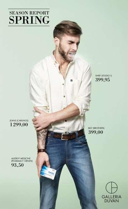Sneezing Fashion Ad Spoofs