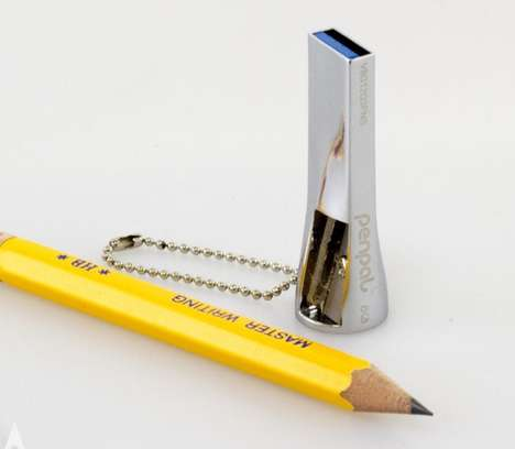 Pencil-Sharpening Thumbdrives