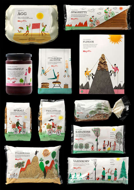 Sweetly Illustrated Branding