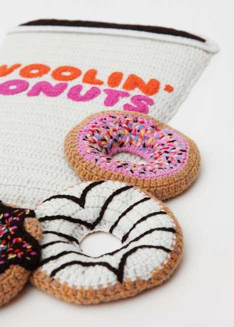 Realistic Crochet Foods