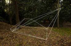 Suspended Geometric Sculptures