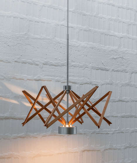 Yarn Swift-Inspired Lighting