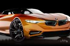 Commemorative Concept Cars - The BMW MZ8 Combines the Z8 Roadster and the 8 Series Sedan