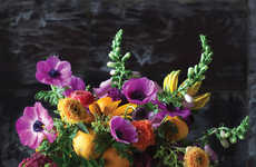 Floral Ingredient Guides - The Flower Recipe Book Revolves Around the Art of Arrangements