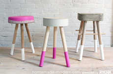 Dirt Cheap DIY Chairs - The $5 Bucket Stool Can be Made for the Cost of a Cup of Coffee