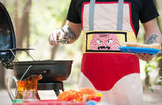 Bad Guy-Inspired Aprons - The Grillain Villain Line by Haute Mess Threads Channels the Dark Side