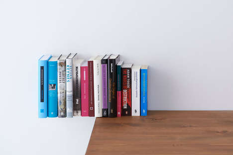 Extend by Yasuko Furukawa is the Ultimate Floating Book Shelf