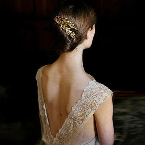 Delicate Wedding Hair Accessories