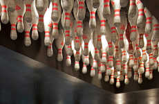 Bowling-Inspired Bar Cafes - The Nicky's Food & Drinks Eatery Embraces the Popular Pastime