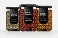 Elaborately Patterned Edibles - Cosmopollen Packaging Interprets the Architecture of its Origin