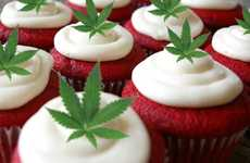 Cocoa Velvet Cannabis Cupcakes - This Delightful Weed Dessert Recipe is Perfect for 4/20