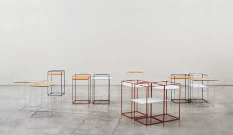 Gridded Minimalism Furnishings - The Adele C Ron Gilad Collection Embraces Simplistic Design Ideals