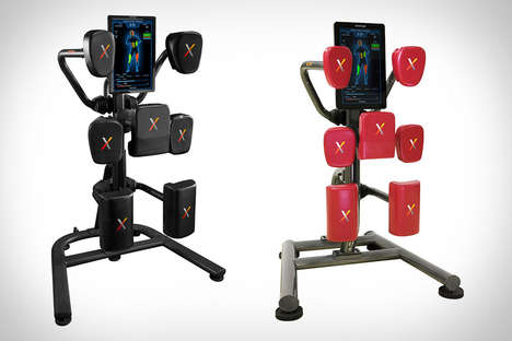 Hi-Tech Punching Equipment - The Nexersys Boxing System is Like a Personal Trainer