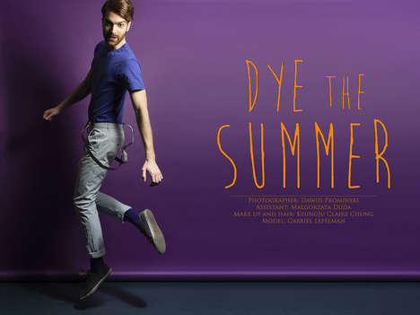 Dapper Nerdy Editorials - Feel the Summer Vibe with an Editorial by Dawid Prominski