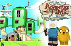Cartoon Building Block Concepts - jazlecraz's LEGO Concept Features Adventure Time Characters