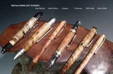 Rustic Custom Wood Pens