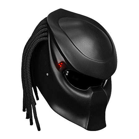 Movie-Mimicked Biker Helmets - NLO MOTO's Novelty Motorcycle Helmet Transforms Riders to Predators