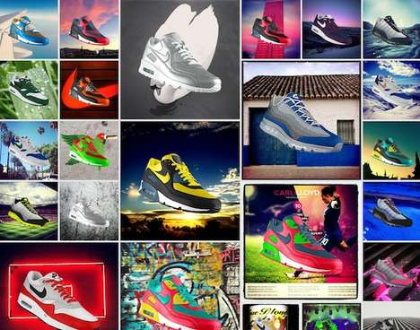 Customizable Social Media Kicks - The Nike Photo ID Project Allows You to Customize Using Instagram