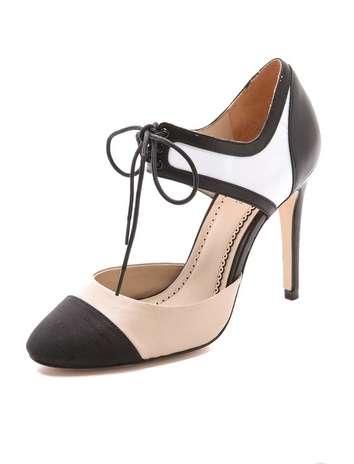Oxford-Inspired Stilettos