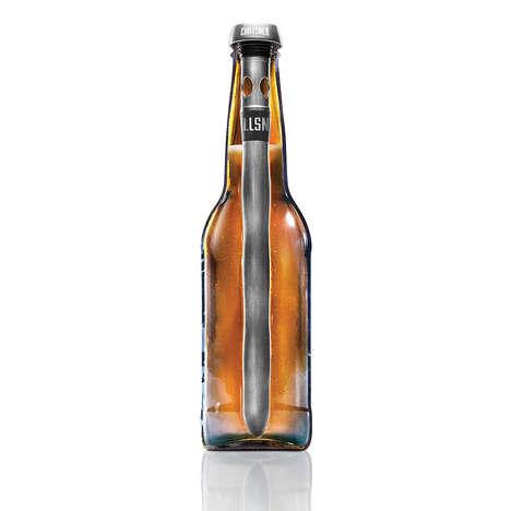 Vertically Sleek Beverage Coolers