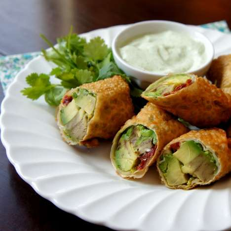 The I Wash You Dry Appetizer Adds a Little Green to a Take-Out Favorite