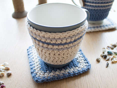 DIY Crocheted Mug Holders