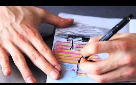 Intuitively Layered Sketchbooks