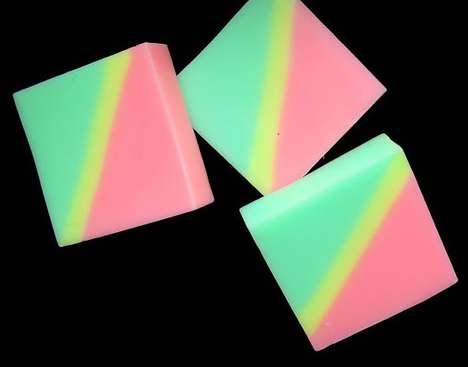 Neon-Colored Cleansers
