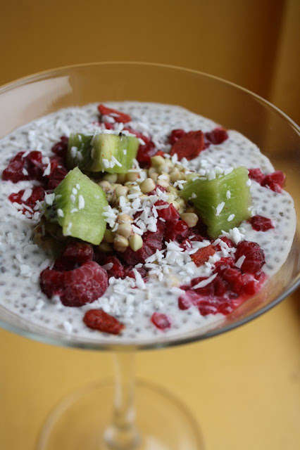 Savory Chia Puddings