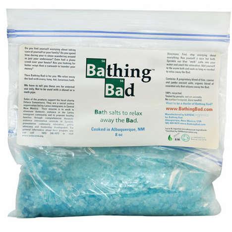 Drug-Inspired Bathtub Accessories