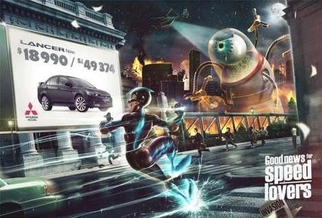 Apocalyptic Automobile Ads