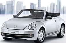 Smartphone-Connected Convertibles - The Volkswagen iBeetle is the First Apple-approved Automobile
