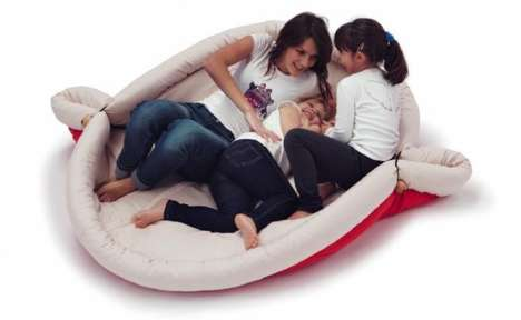 Comfortable Enveloping Furniture - These Blandito Cushion Nests Offer Numerous Ways To Relax