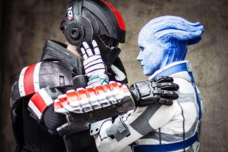 Romantic Sci-Fi Costume Photoshoots