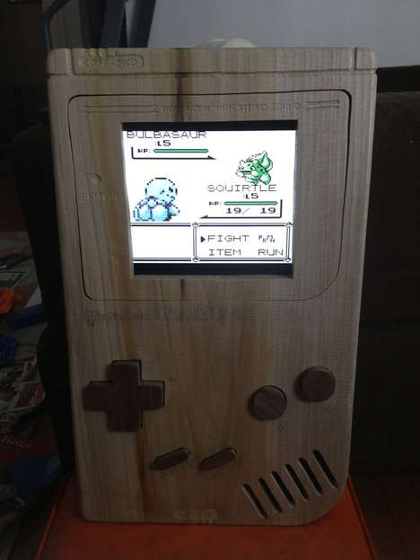Wood-Sculpted Gaming Devices
