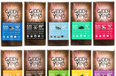 Raw Ingredient Chocolate Bars - Giddy YoYo Chocolates Contain Natural Mood-Boosting Ingredients