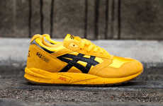 Vibrant Movie-Themed Shoes  - ASICS' Kill Bill-Inspired Kicks Pay Homage to a Modern Classic
